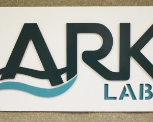Multi Layer Sign for Ark Labs, Metal Business sign, Alabama Metal Art