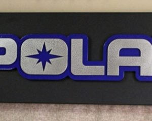 Polaris Sign Multiple color Metal Business Sign