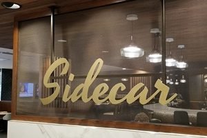 SideCar Bar Sign Washington DC