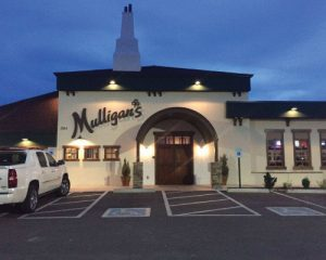 Mulligan's metal business signs