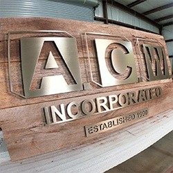 ACW - Mixed Media Sign
