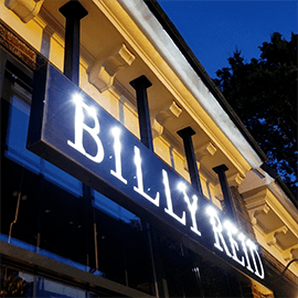 Billy Reid Nashville Exterior Signage