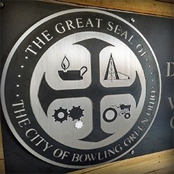 City of Bowling Green Wastewater Signage