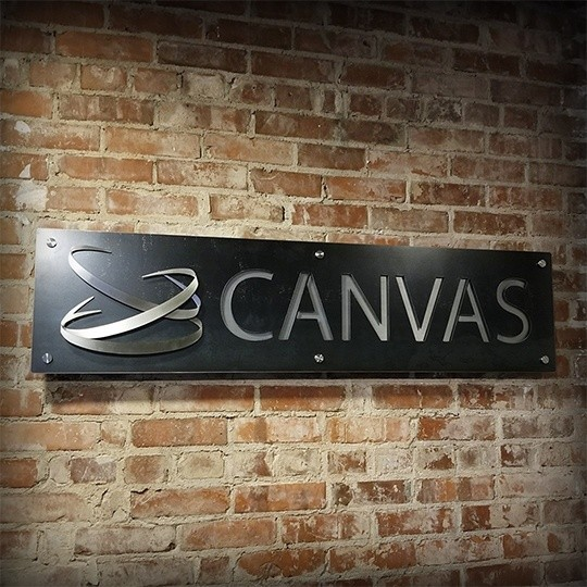 Canvas - Office Interior Business Sign