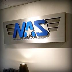 NAS Sign