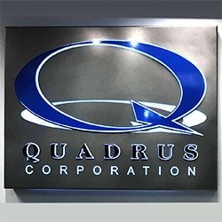 Quadrus Corporation Sign