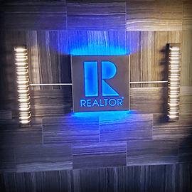 REALTOR Lighted Sign