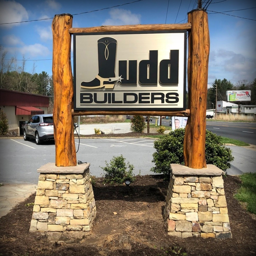 Judd Builders Exterior Sign